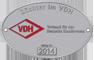 VDH-Plakette 2014, VDH - Verband f�r das Deutsche Hundewesen (VDH) e. V