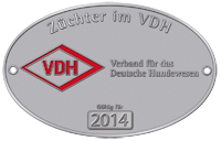 VDH-Plakette 2014